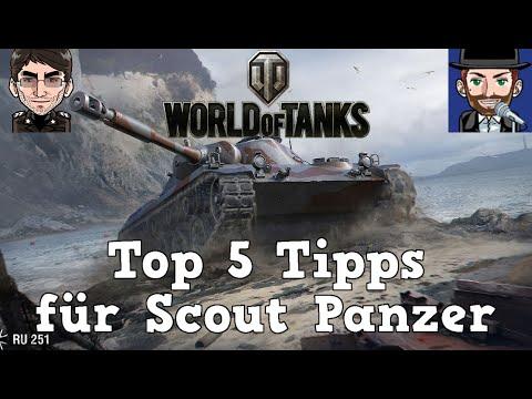 World of Tanks - Top 5 Tipps & Tricks für Scout Panzer [deutsch | Tutorial]