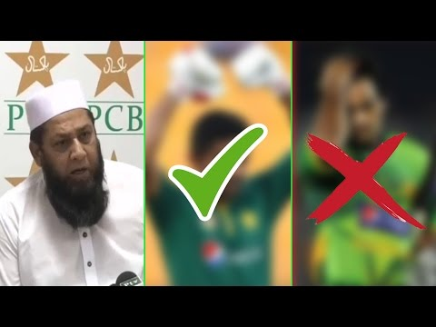 Inzamam Announces Pakistan Test Cric Team, Drops Main Players   Dunya News