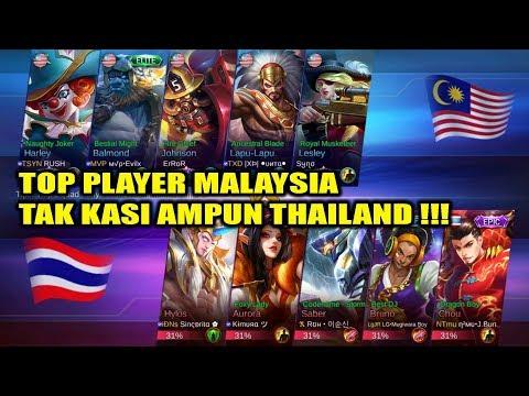 Top Player MALAYSIA Tak Kasih Ampun THAILAND !!! MALAYSIA VS THAILAND Arena Contest