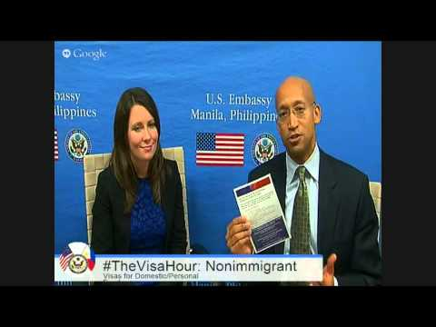 The Visa Hour: Nonimmigrant B1 Visas for Domestic and Person