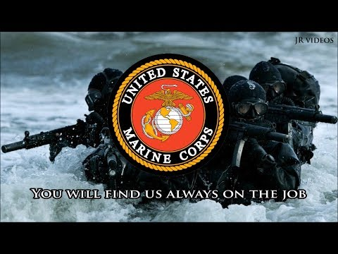 The Marines' Hymn (lyrics) - USMC hymn