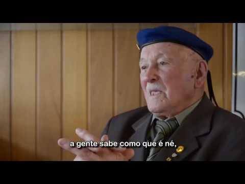 Pracinha Francisco Pértile narra sua experiência na Segunda Guerra Mundial