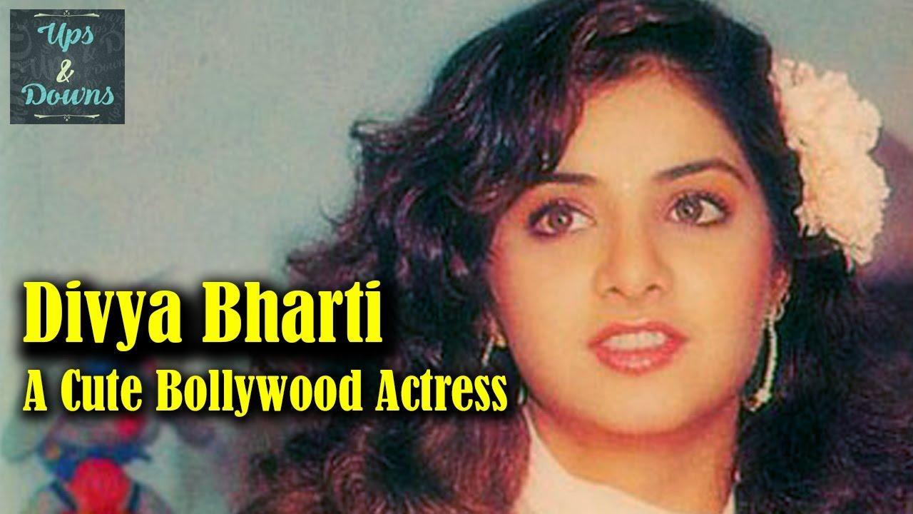 divya bharti still alive   a cute bollywood actress   ups&downs