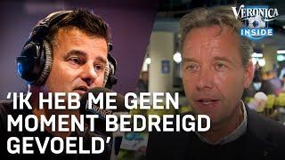 Valentijn Driessen en De Telegraaf bedreigd door harde kern van Ajax