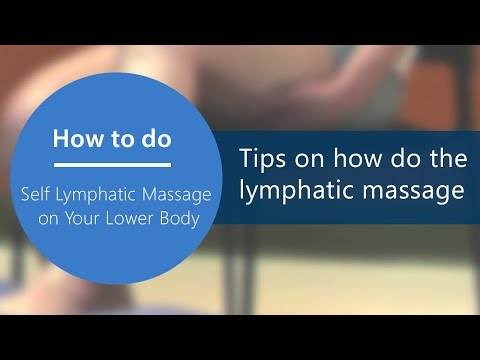 Download Lymphatic Drainage Massage And Proper Faja Use After