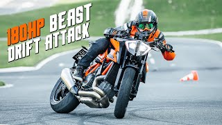 KTM 1290 SUPER DUKE R 2020 DRIFT ATTACK | RokON VLOG #100