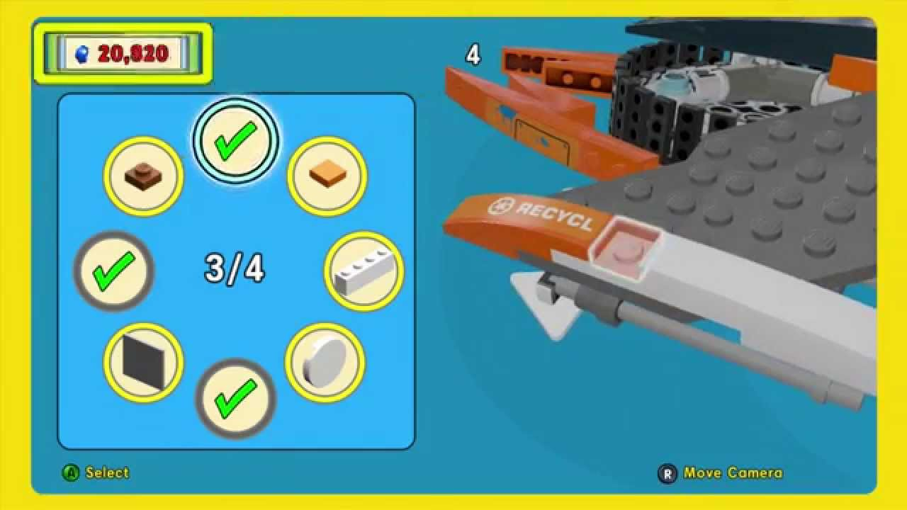 Lego Movie Videogame Super Cycle Golden Instruction Build 2 Youtube