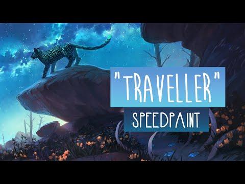 Traveller | SPEEDPAINT | Photoshop CC