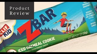 Z Cliff Bar Snack Review
