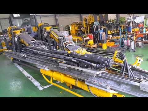 [ Winwin Used Machinery ]  Refurbished Tunneling Drill ATLAS COPCO Rocket Boomer L2C Test Work  2