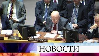 Швейцария и Кувейт внесли в Совбез ООН резолюцию по Сирии.