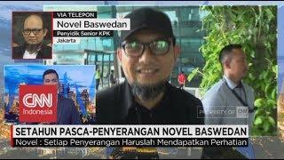 Setahun Pasca-Penyerangan Novel Baswedan