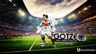 Mario Götze the glorious german skills and goals 2013-2014 HD