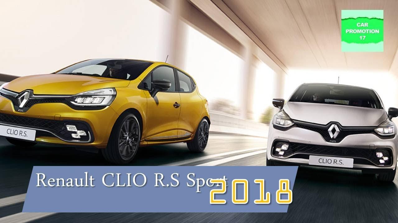 2018 renault clio sport. interesting renault 2018 renault clio rs sport interior u0026 exterior driving intended renault clio sport