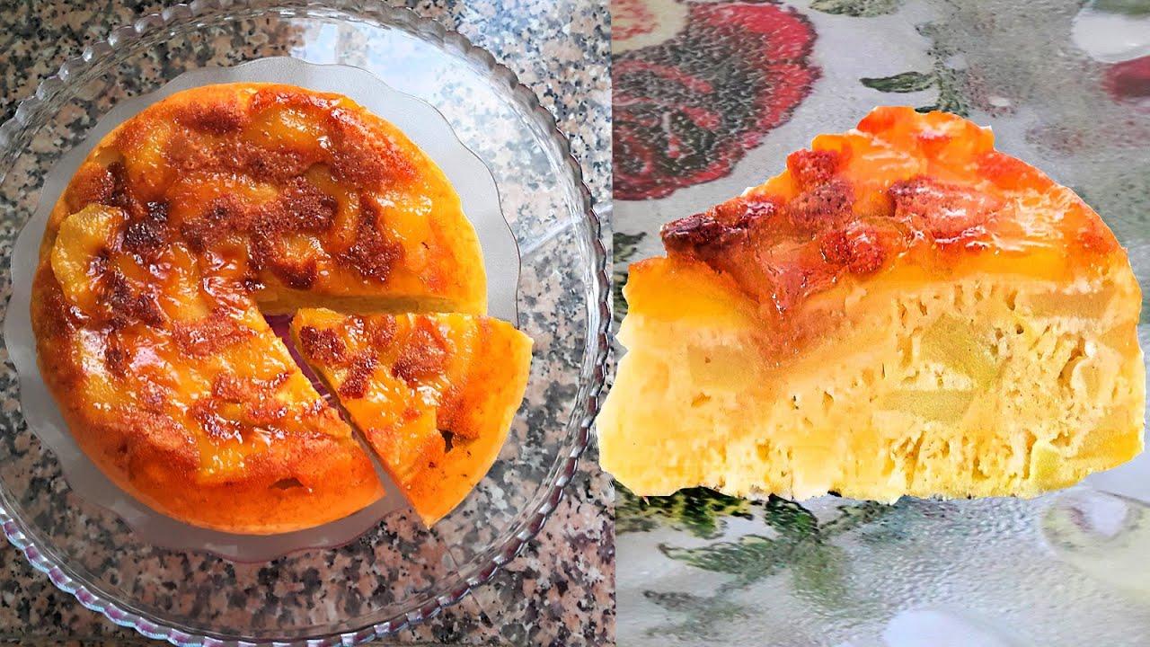 как приготовить шарлотку с карамелизированными яблоками