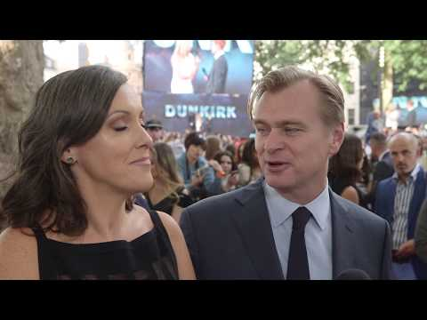 Dunkirk World Premiere Interview - Christopher Nolan & Emma Thomas