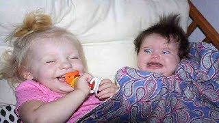 CUTE BABY SIBLINGS PLAYING AND LAUGHING | Funny Everyday Compilation