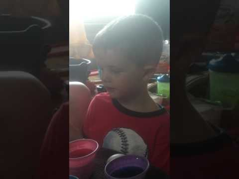 Abel coloring eggs