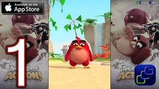 ANGRY BIRDS Action iOS Walkthrough - Gameplay Part 1 - Stages 1-5
