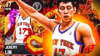 GALAXY OPAL JEREMY LIN GAMEPLAY! I CANT BELIEVE HOW GOOD THEY MADE THIS CARD! NBA 2k21 MyTEAM