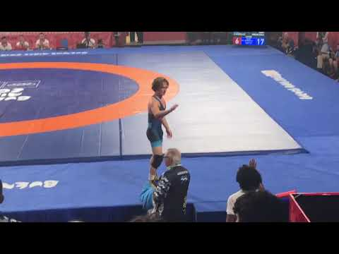 Robert Howard of Bergen Catholic wins Youth Olympic Gold in wrestling
