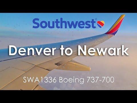 TRIP REPORT | Southwest Airlines (Economy) | Boeing 737-700 | Denver - Newark (DEN-EWR)