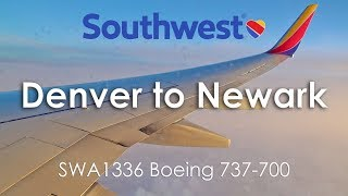 TRIP REPORT | Southwest Airlines (Economy) | Boeing 737-700 | Denver - Newark (DEN-EWR)
