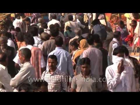 Naga Sadhus on the day of Maha Shivratri