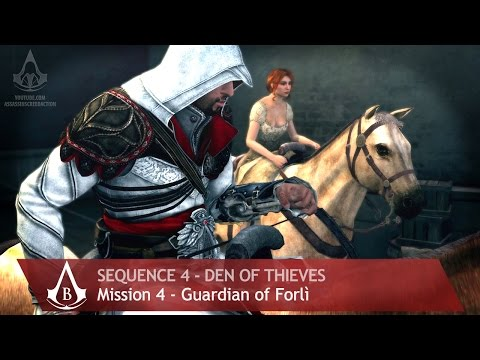 Assassin's Creed: The Ezio Collection - AC: Brotherhood - Sequence 4 - Guardian Of Forlì