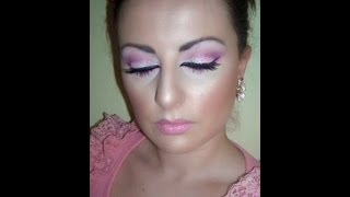Neon & Glitter Pink Makeup Tutorial Thumbnail