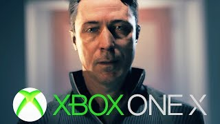 QUANTUM BREAK XBOX ONE X GAMEPLAY 4K (Exclusive)