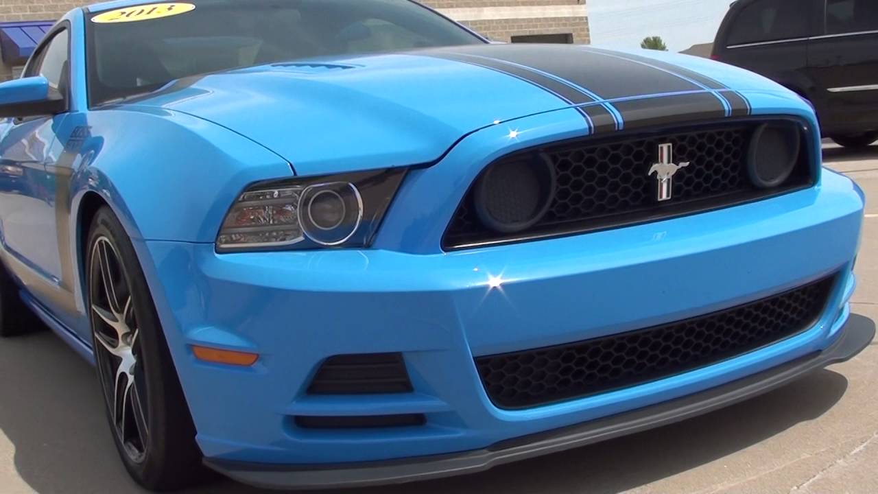 2013 ford mustang boss 302 grabber blue only at rons toy box in bettendorf ia 52722
