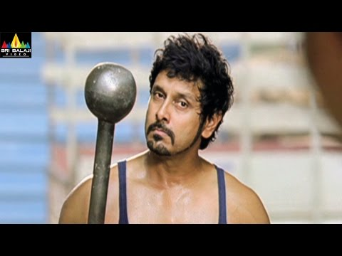 Veedinthe Movie Vikram Kidnaping Musthafa Scene | Vikram, Deeksha Seth | Sri Balaji Video