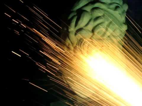 Bronze coating a polystyrene Zeus head