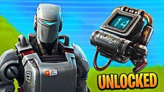 "How To Unlock The ""HUNTING PARTY"" Skin in Fortnite! Fortnite A.I.M Skin + E.L.I.M Backbling Unlocked"