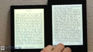 Kindle Paperwhite 2 vs Kobo Aura Comparison Review