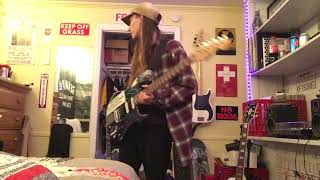 Kurt Cobain - Paramount/Vandalism Strat Replica Demo