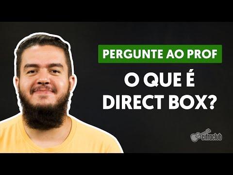 Pra que serve um direct box? | Pergunte ao Professor