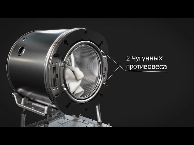 ASKO Профессиональная конструкция Quattro