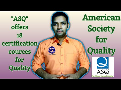 American Society For Quality ! About ASQ ! ASK Mechnology !!!