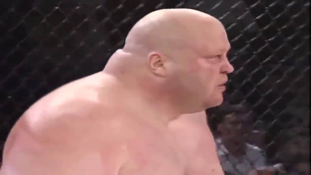 Legendary Butterbean vs. Cabbage.  What happens when a boxer meets an MMA fighter.