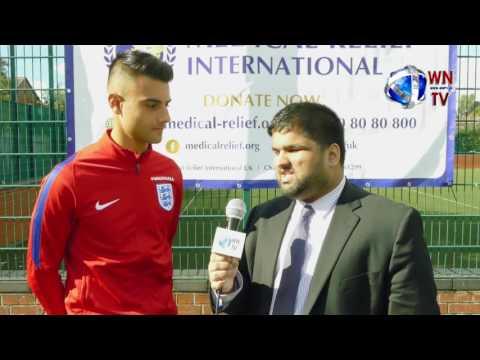 Video Interview Easah Suliman AVFC , England U' 19s , Captain