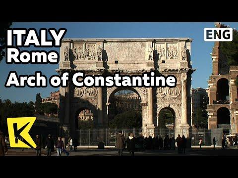 【K】Italy Travel-Rome[이탈리아 여행-로마]콘스탄티누스 개선문/Arch of Constantine/Roma