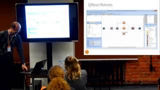 Среда для обучения информатике и робототехнике QReal:Robots