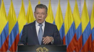 A Special Video Address by Colombian President Juan Manuel Santos