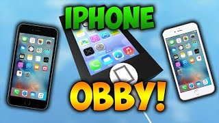 IM NOT CHEATING!!! Roblox Escape the Iphone 7 Obby