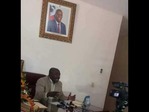 """""""Pouvwa pare pou afronte 9 nèg kap chèche asasinen prezidan Jovenel Moise"""" Dixit Eudes Lajoie.@SS"""