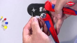Пресс-клещи для опрессовки контактных гильз самонастраивающиеся KNIPEX KN  97 53 04(Заказывайте в нашем интернет магазине ..., 2015-02-16T13:39:19.000Z)