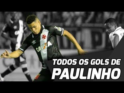 TODOS OS GOLS DE PAULINHO PELO VASCO