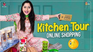 Kitchen Tour || Lahari Kitchen Tour || Online Shopping Haul || Ok Lahari || Lahari vlogs